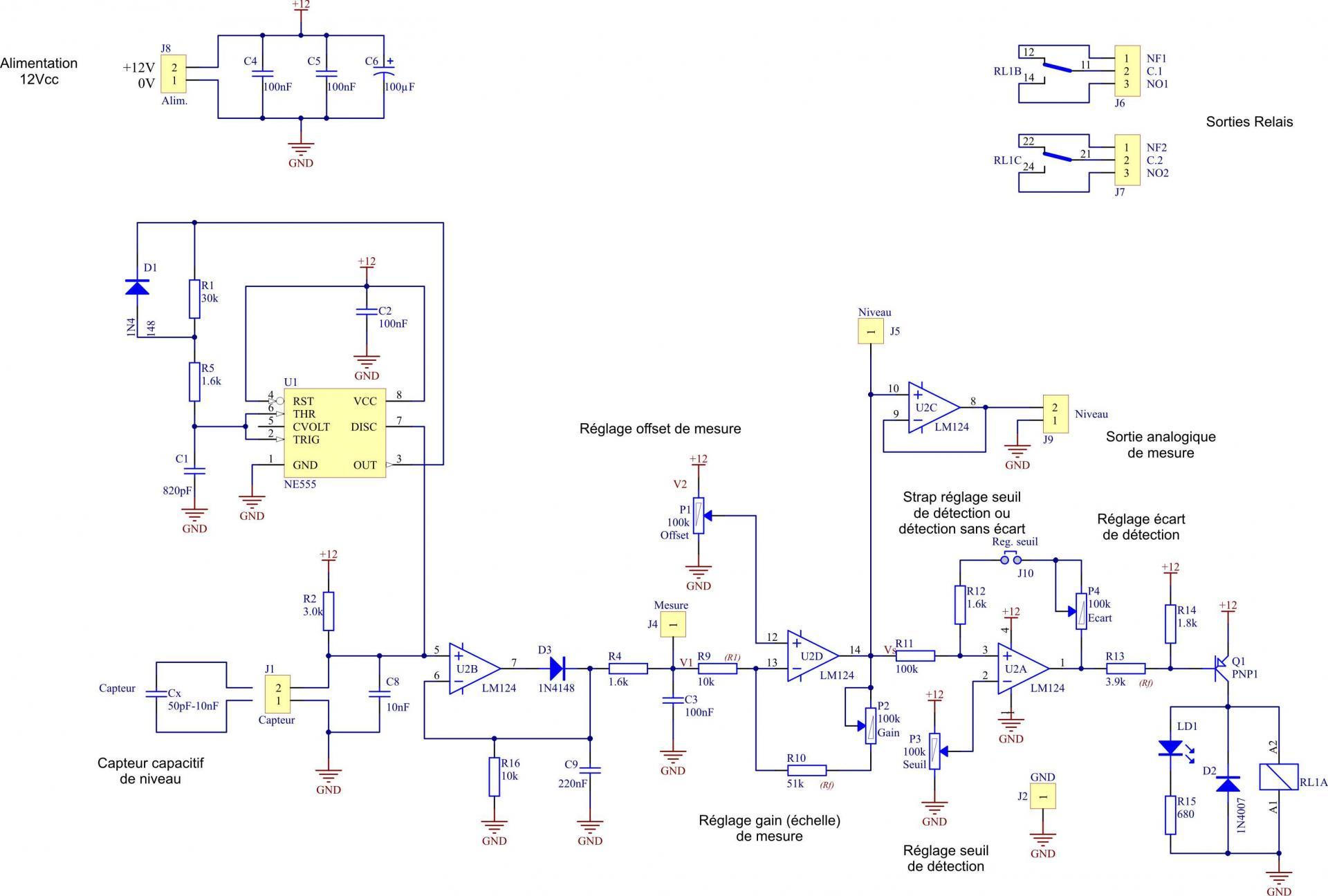Detection de niveau liquide sch